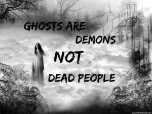 demons and ghosts